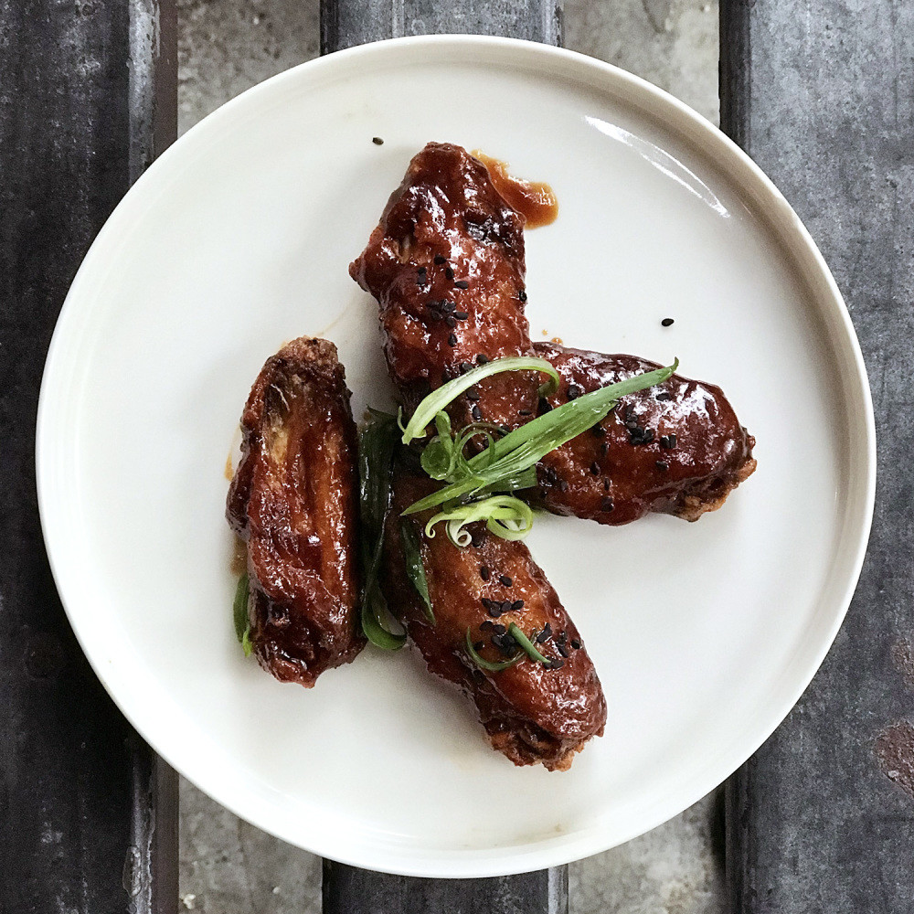 Wingman Hong Kong hoisin chicken wings