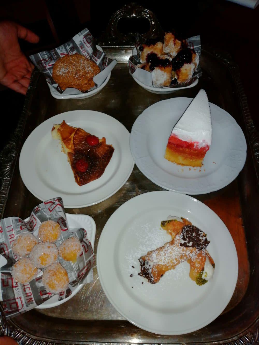 Dessert at Franks