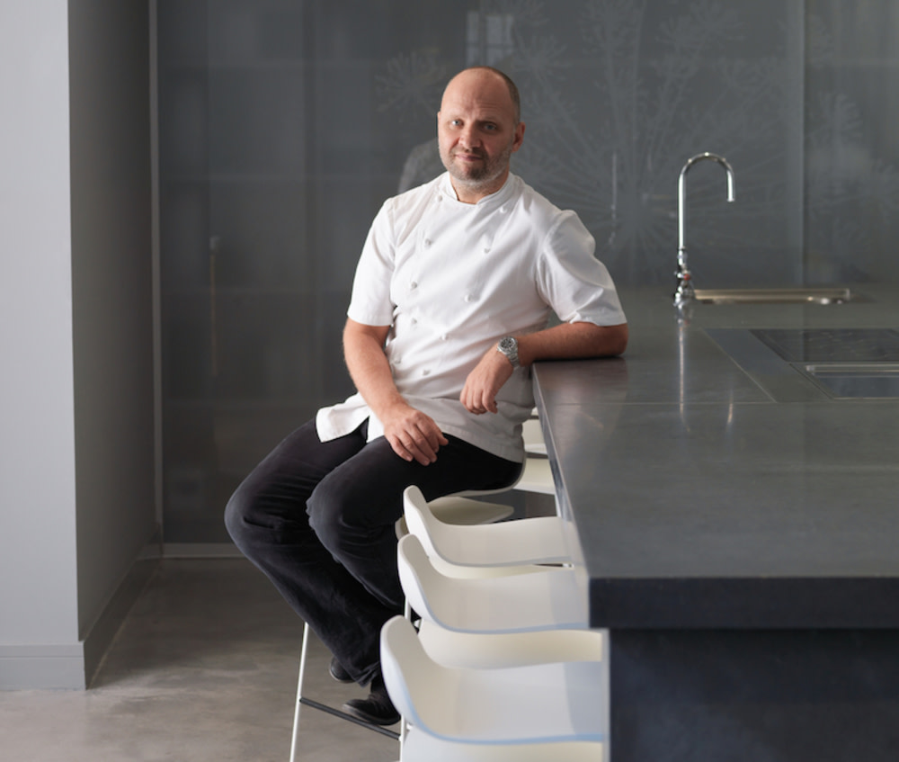 Chef Simon Rogan's Aulis Hong Kong