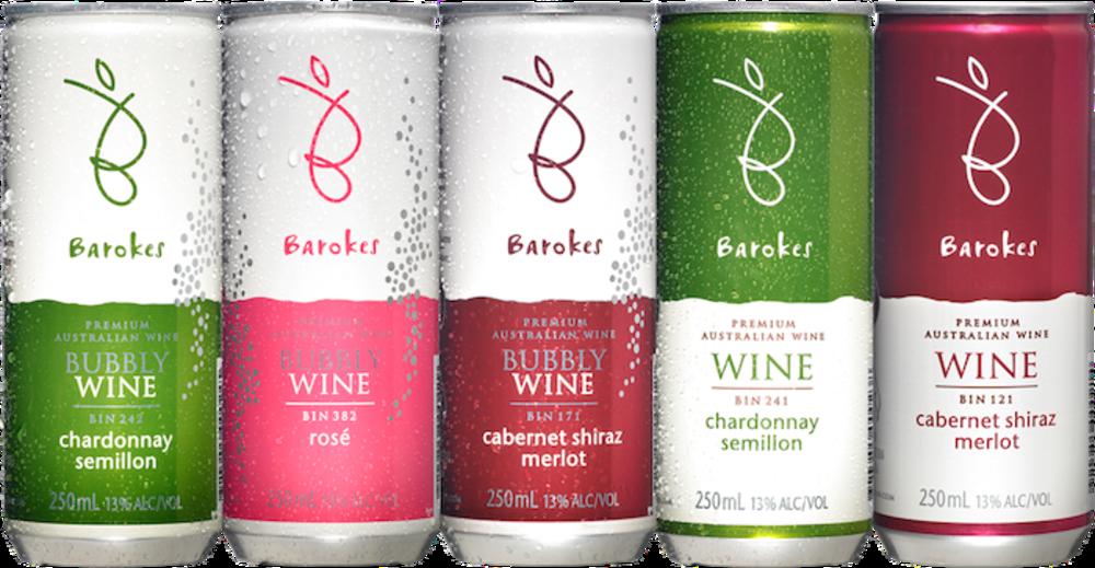 Smaller-format wine