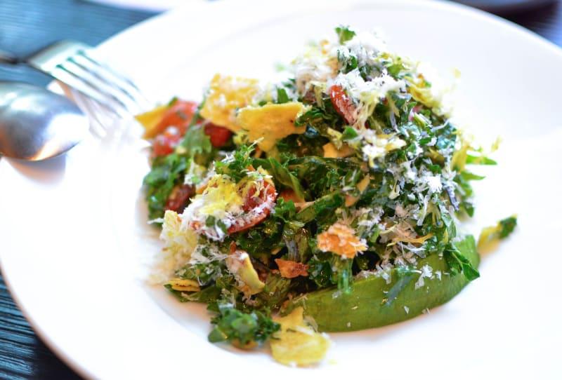 Kale salad at Beefbar HK