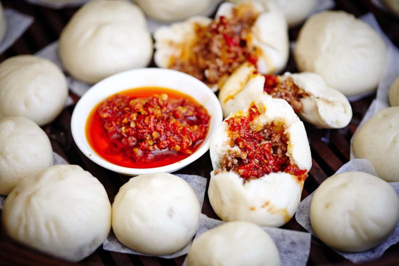 Pork buns at Billy Kwong