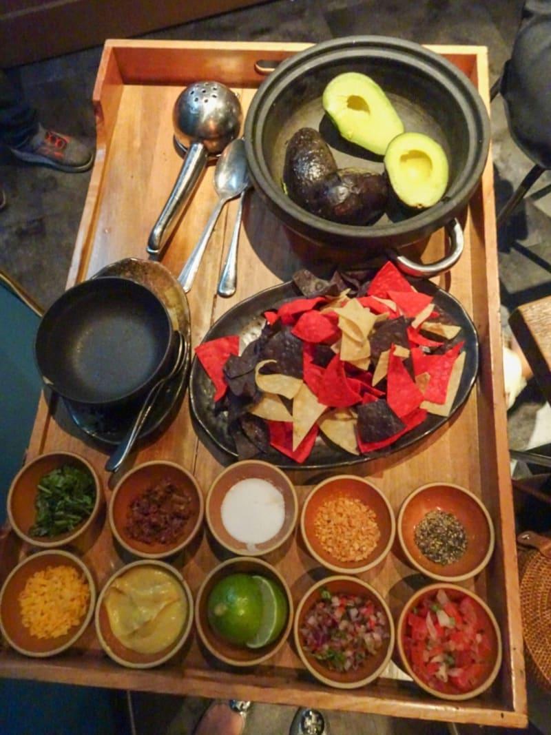 design your guacamole at Picada