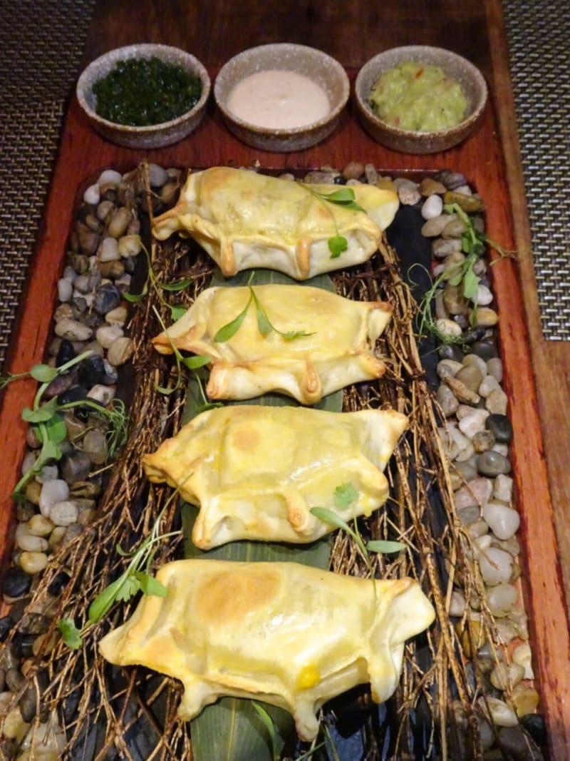 three-cheese empanadas