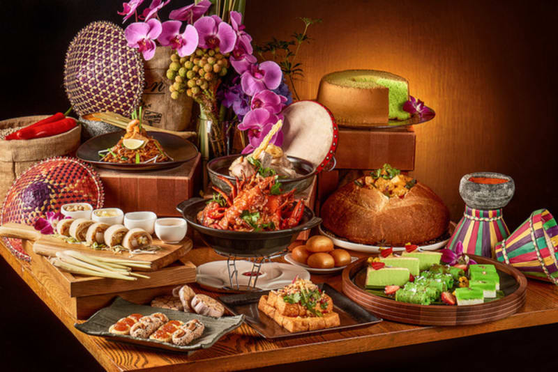 A Taste of Singapore weekday lunch buffet at Harbourside, InterContinental Hong Kong