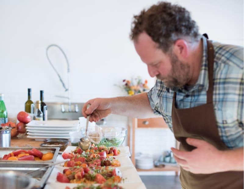 Chef Daniel Kedan of Backyard
