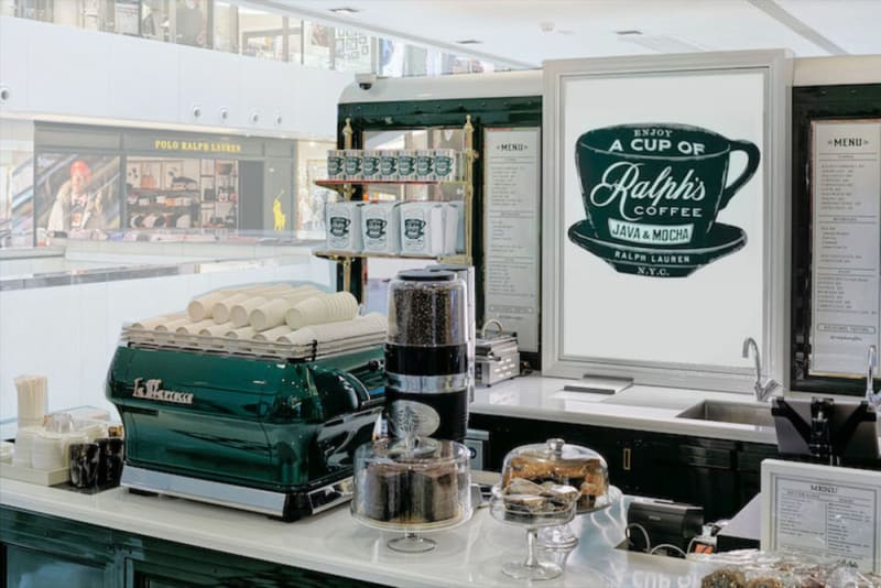Ralph's Coffee pop-up at New Town Plaza Hong Kong