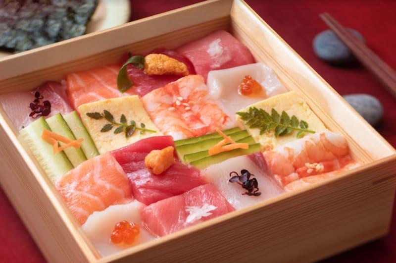 Art-inspired bentos at Unkai Japanese Cuisine Hong Kong