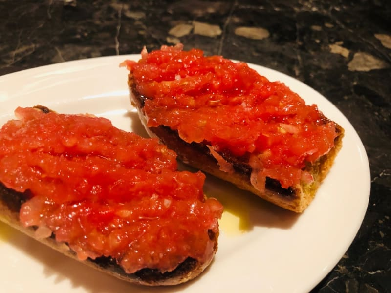 Tomato bread at Pica Pica Hong Kong