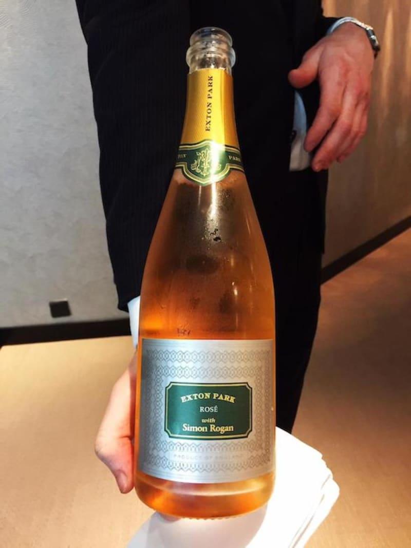 Exton Park rosé sparkling wine
