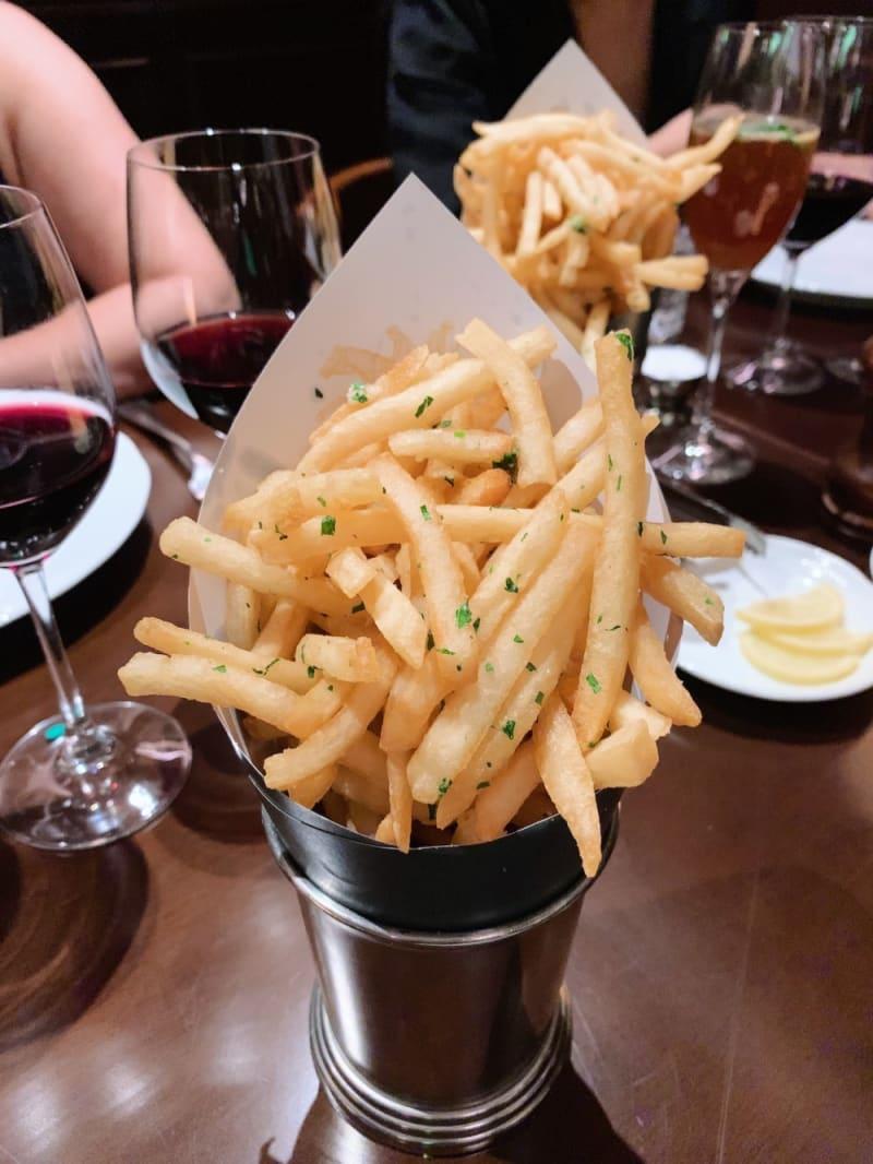 Fries Provenzal at Buenos Aires Polo Club Hong Kong