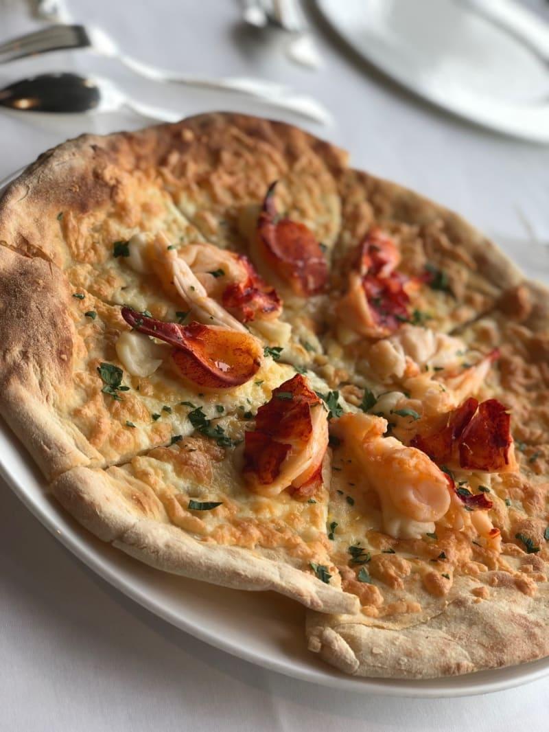 All'astice pizza