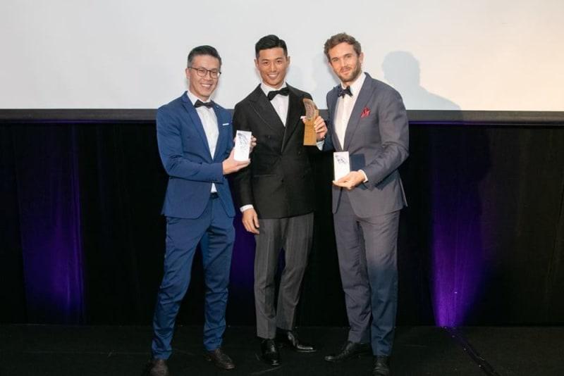 NOC team at 2018 Transform Awards