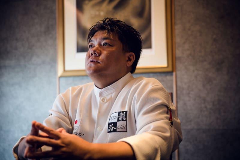 Chef Seiji Yamamoto of Nihonryori RyuGin