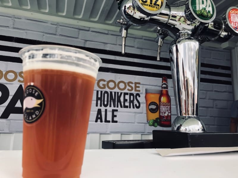 Goose Island Honkers Ale at Taste of Hong Kong 2019