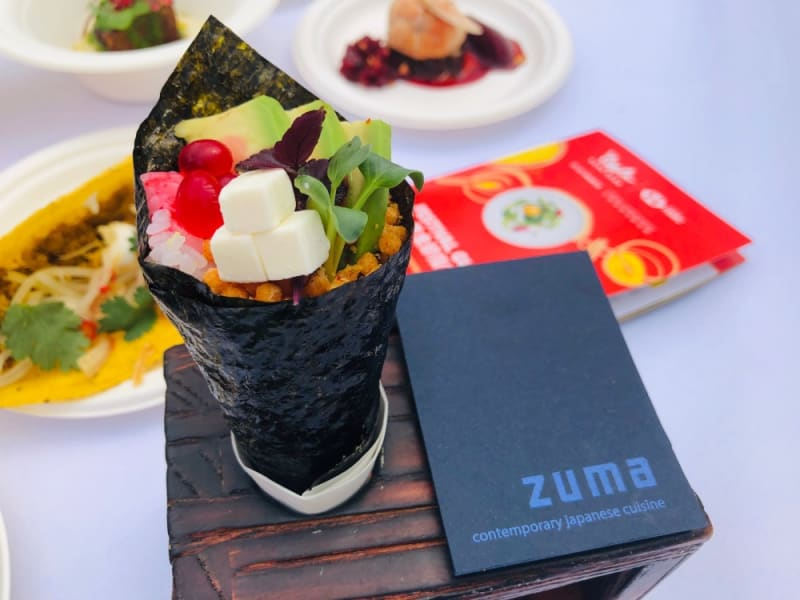 Zuma's temaki at Taste of Hong Kong 2019