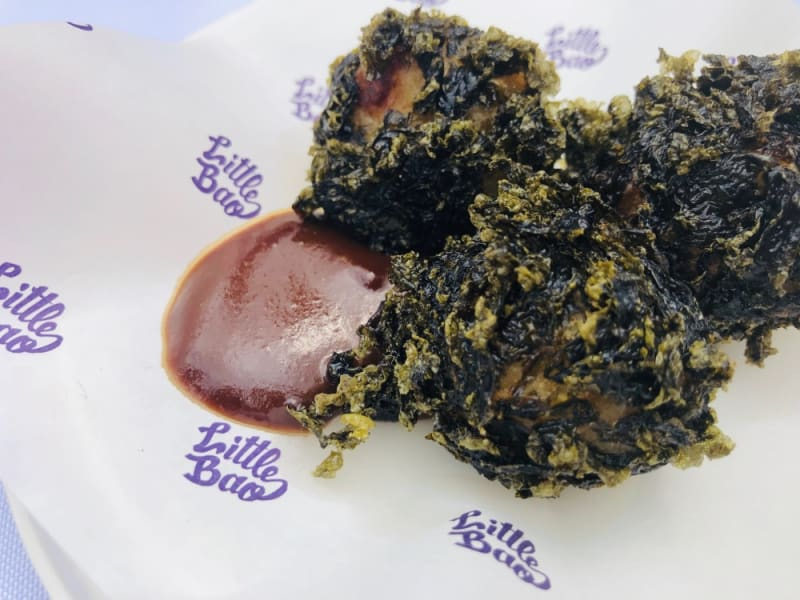 Little Bao's seaweed poppers at Taste of Hong Kong 2019