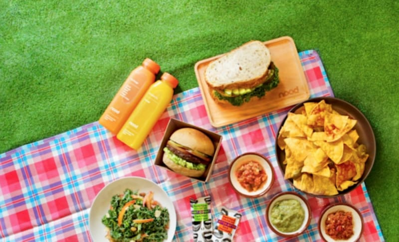 Vegan Easter picnic 2019 by nood food