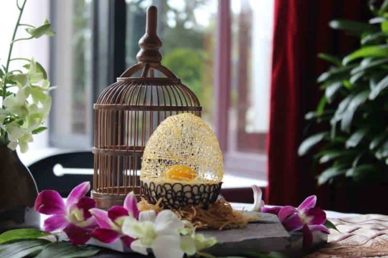 Sweet Eggnest at Azarei La Residence, Hue (Vietnam)