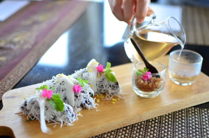 Coconut Concoctions at Banyan Tree Samui (Koh Samui, Thailand)