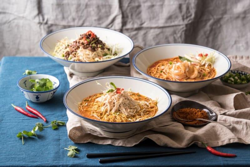Pop-Up Menu at Sun's Bazaar Featuring Old Bazaar Kitchen Hong Kong