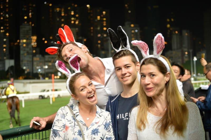 Easter at Hong Kong Jockey Club Happy Wednesday