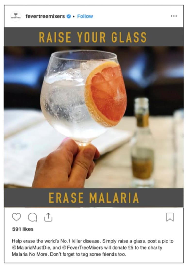Raise Your Glass, Erase Malaria