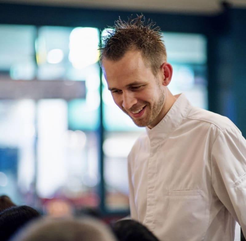 Chef Johan Ducroquet