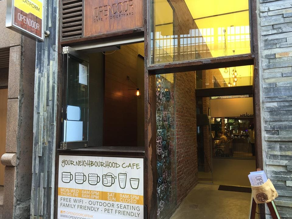 Opendoor Cafe + Courtyard Hong Kong
