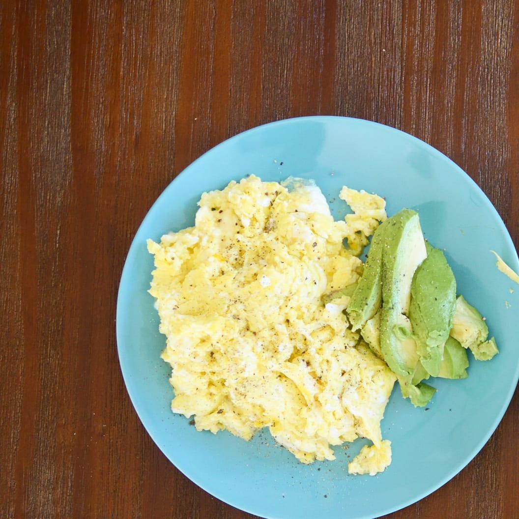 Srambled egg with ricotta