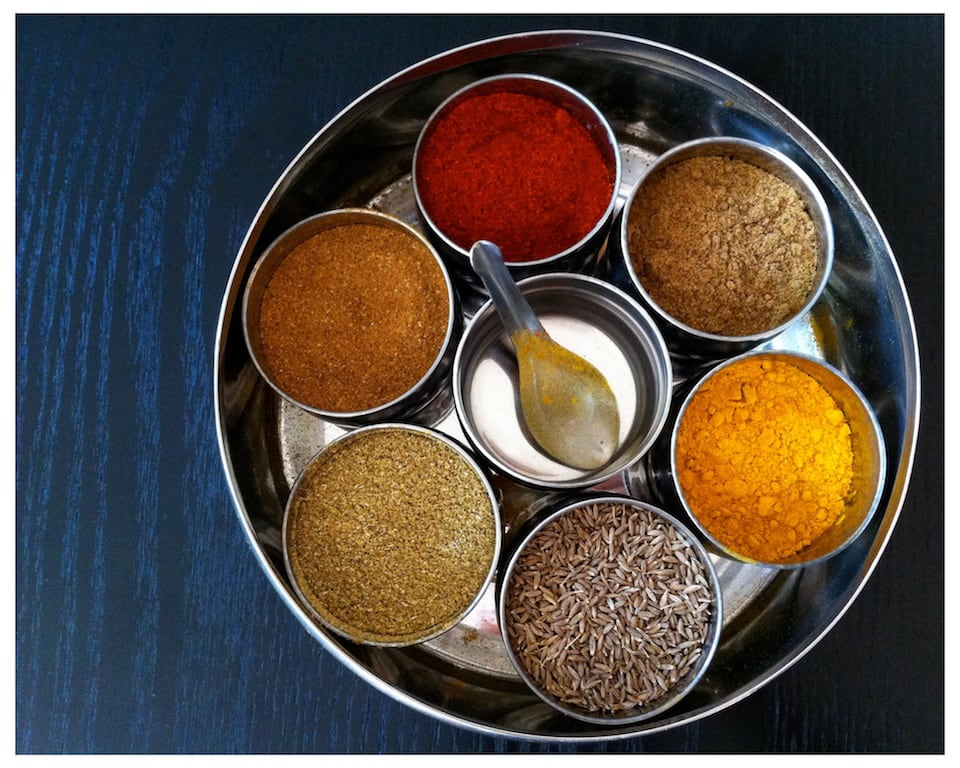 Steel spice containers