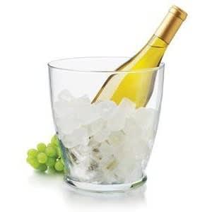 Chilled white wine