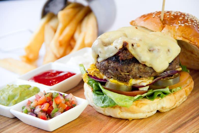 High Street Grill burger