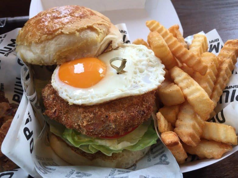 Opium Snack Bar burger