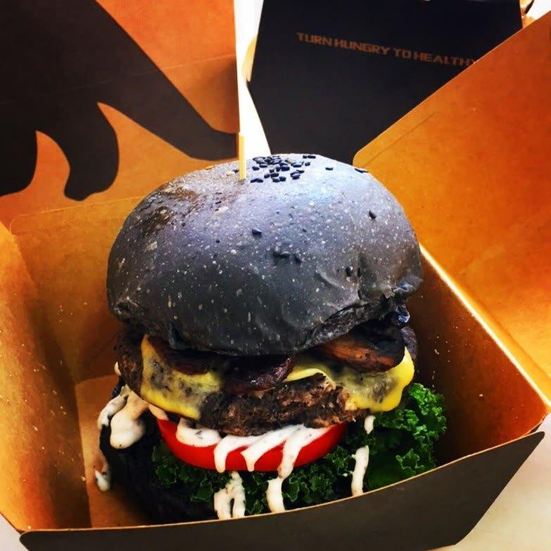 Veggi Monster burger