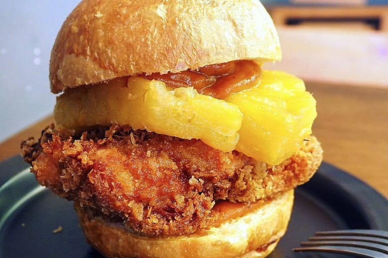 Baofanji burger