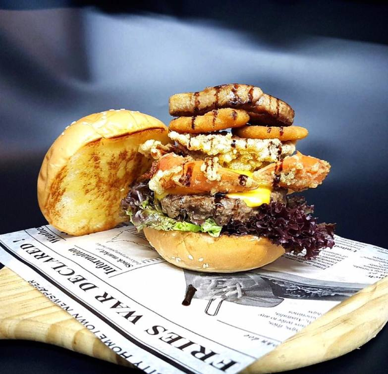 Urban United burger