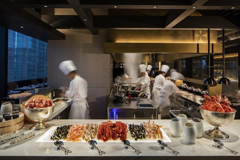 Sustainable Seafood at Grand Cafe Grand Hyatt Hong Kong