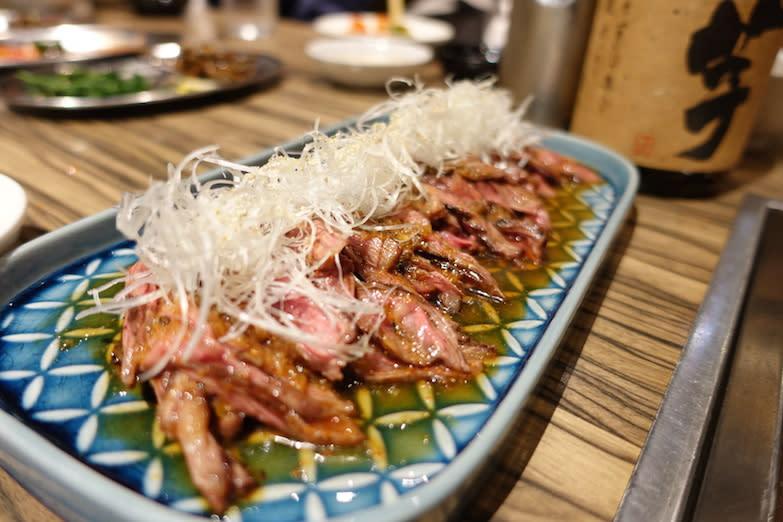 Yakiniku Jumbo grilled meat