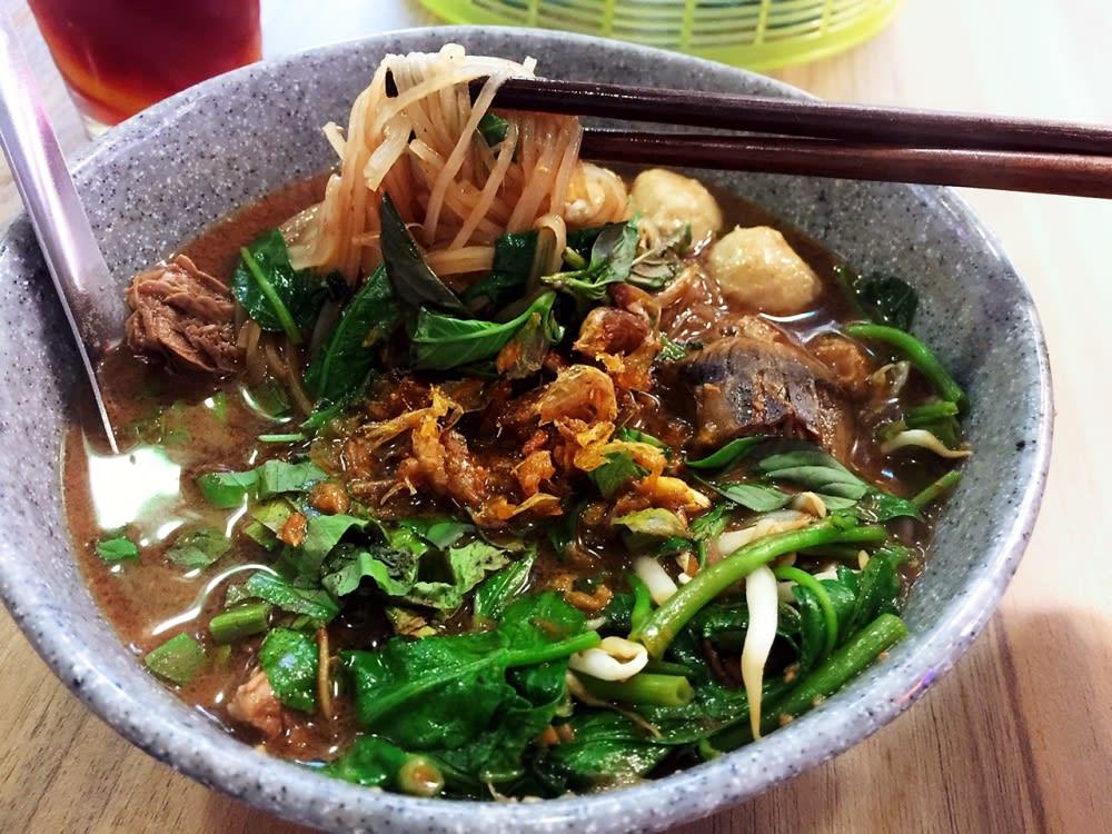 Thai boat noodles at The Spice House Hong Kong