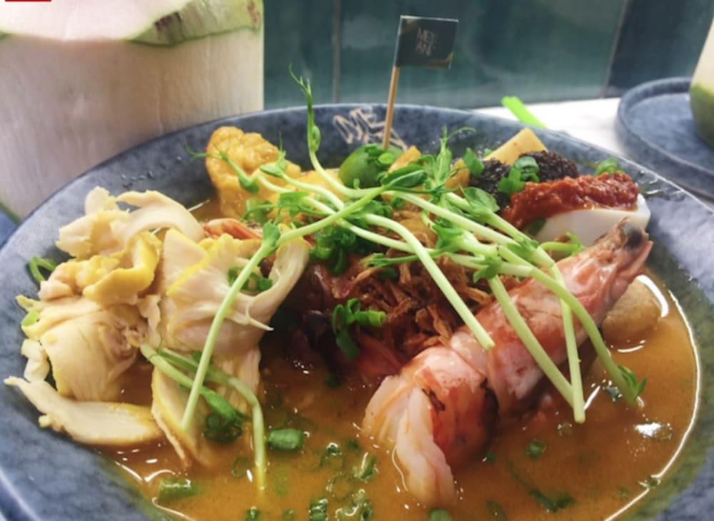 Nyonya laksa at Mean Noodles Hong Kong
