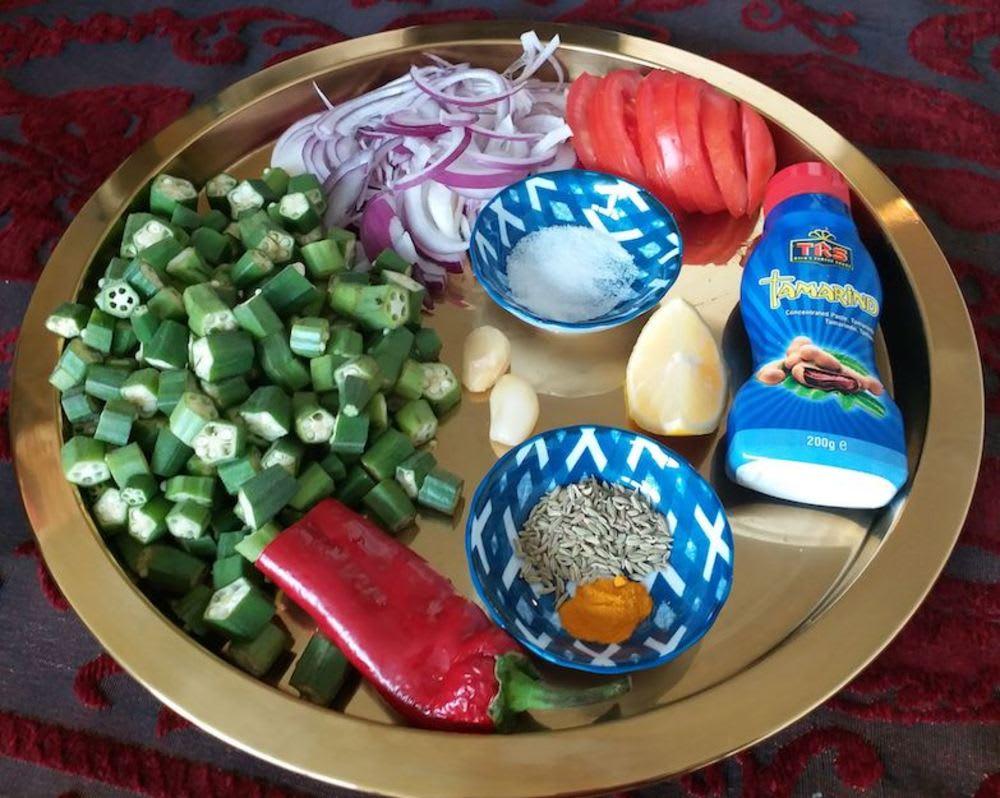 Tangy okra Ramadan recipe