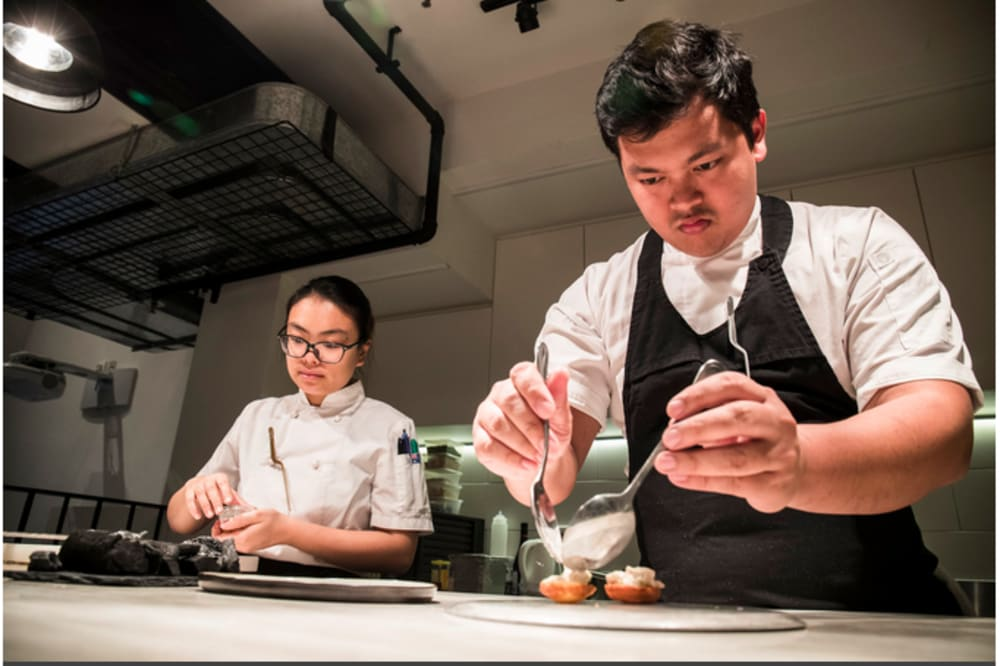 Test Kitchen x Young Chef of the Year 2018 (Bangkok) + ex-Sühring pastry chef Hong Kong
