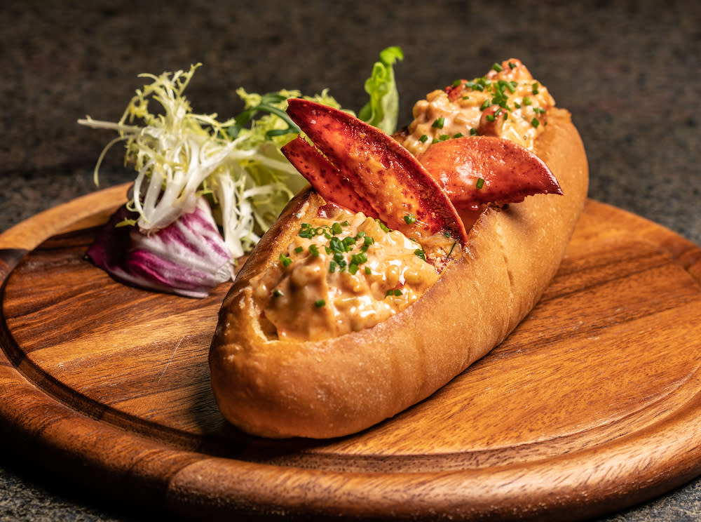 Bungalow's lobster roll