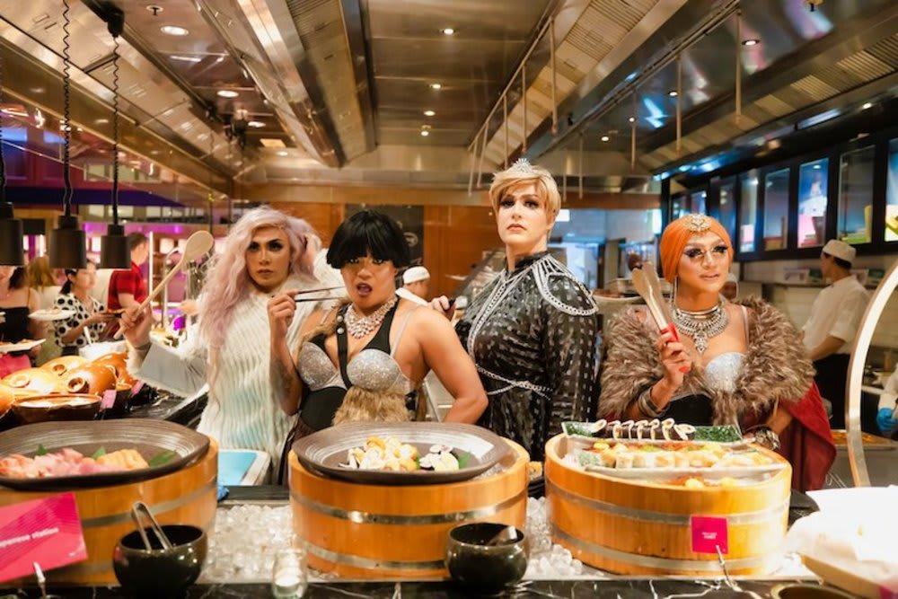 W Hong Kong's Drag Me to Late Brunch: July Edition