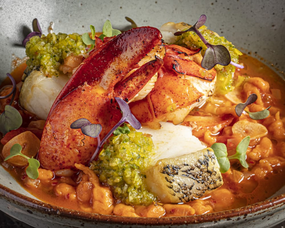 Spiced Seafood Stew at Kinship
