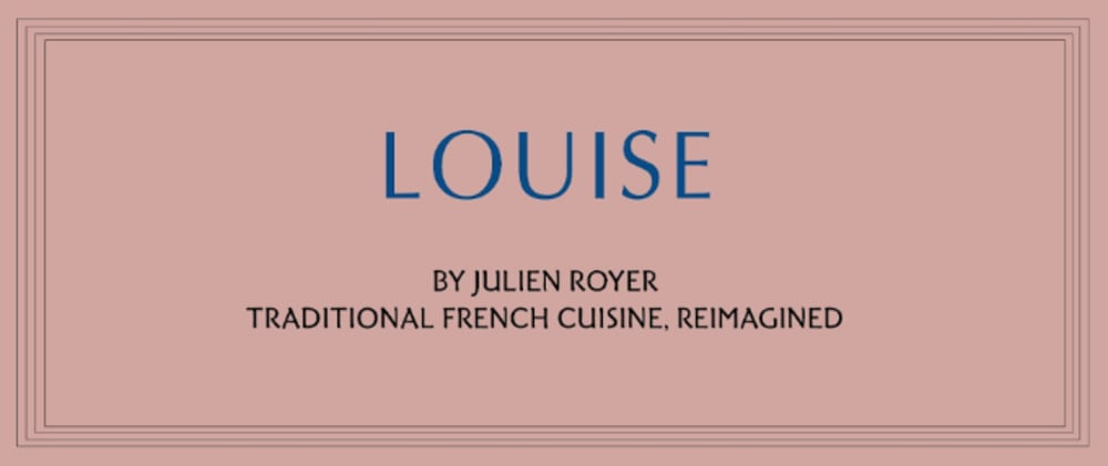 Louise HK, by Julien Royer