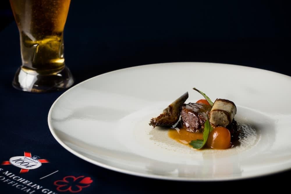 #DinnerInBlue by Kronenbourg 1664 x ÉPURE Hong Kong