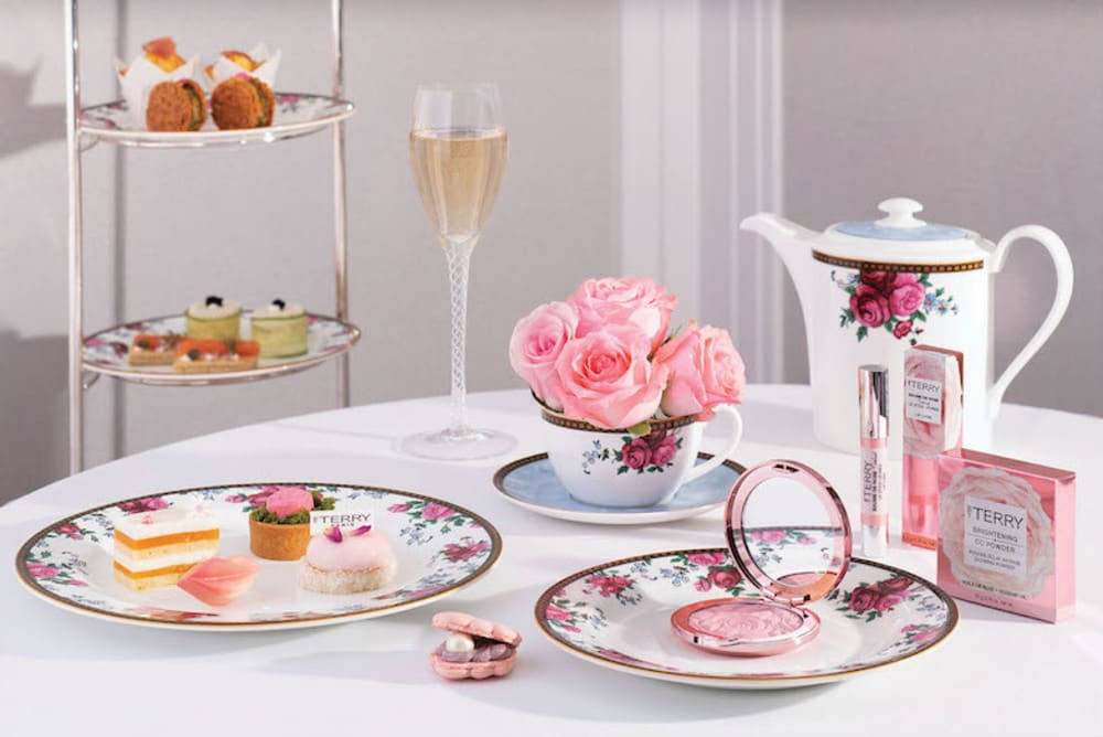 Glow-in-Rose Afternoon Tea with BY TERRY at The Langham's Palm Court Hong Kong