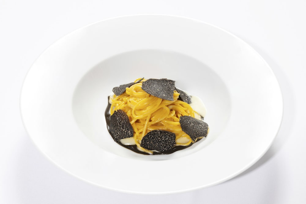 Truffle dinner at Octavium Hong Kong
